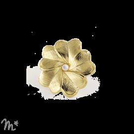 Pin's EVA doré nacre