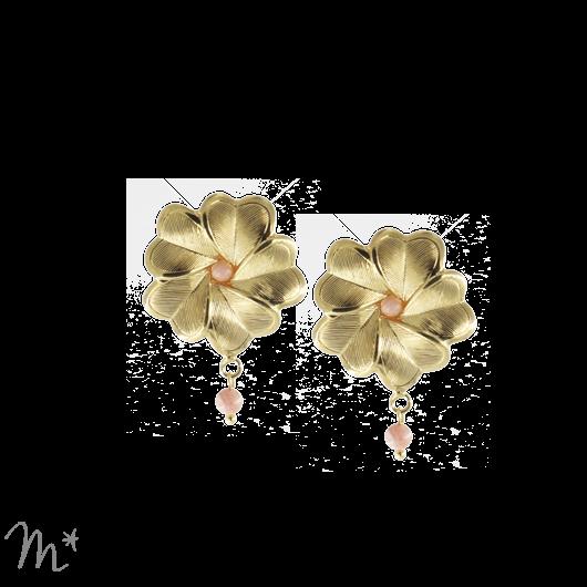 Boucles d'oreilles Eva simples