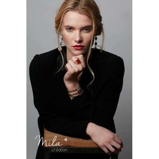 Boucles d'oreilles Mia 5