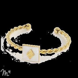 Bracelet Marion Doré Nacre