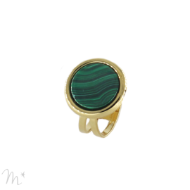 Bague Kim Malachite