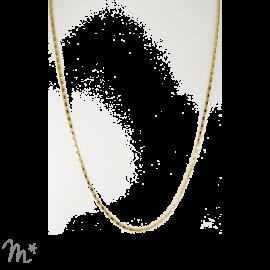 Pendentif chaîne dentelle
