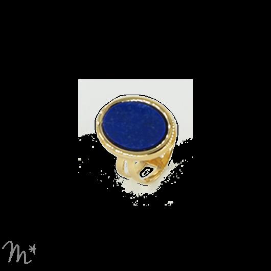 Bague Madeleine lapis lazuli
