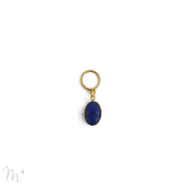 Charm's pierre sertie lapis lazuli