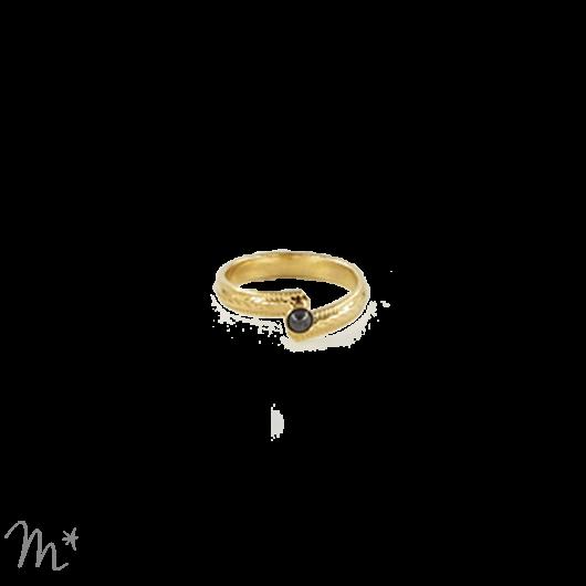anneau Love Pyrite