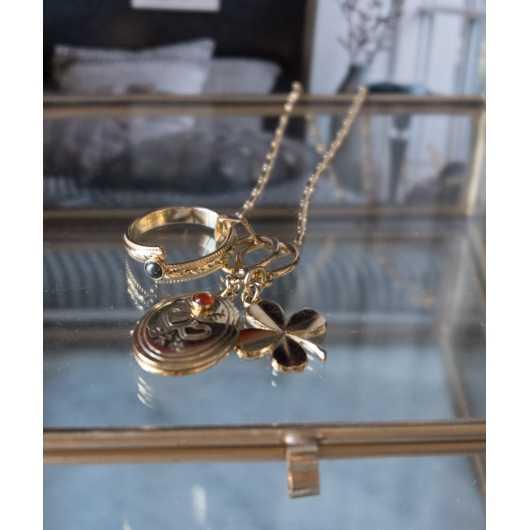 anneau Love lapis lazuli