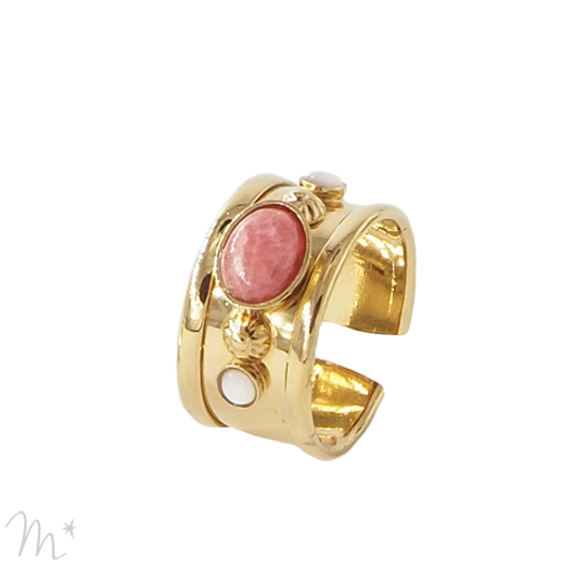 Bague Sonate rose