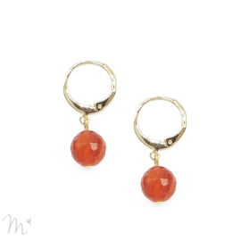 Boucles d'oreilles ARTY orange