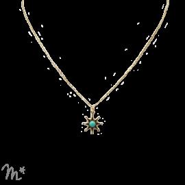 Pendentif Star turquoise