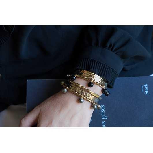 Bracelet ARTY Pyrite