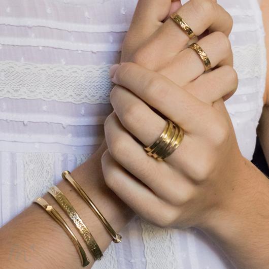 Bracelet Léonie doré