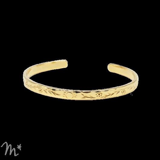 Bracelet Sandrine doré