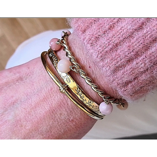 Bracelet ARTY Opal rose